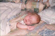 baby jaden sleeping